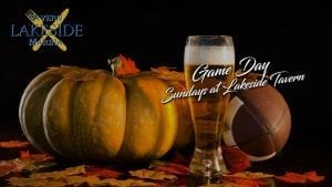 Game Day Specials at Lakeside Tavern